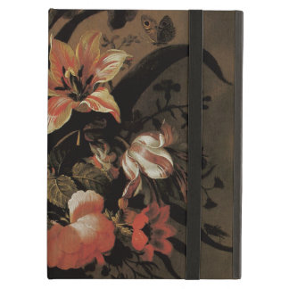Vintage Baroque, Floral Still Life Flowers in Vase iPad Air Covers