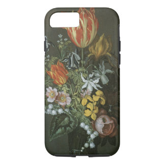 Vintage Baroque, Floral Still Life Flowers in Vase iPhone 7 Case
