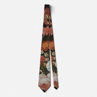 Vintage Baroque, Flower Piece by Bosschaert, Elder Tie