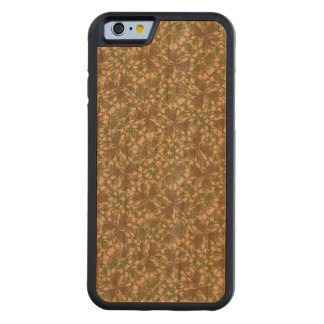 Vintage Baroque Pattern Carved Cherry iPhone 6 Bumper Case