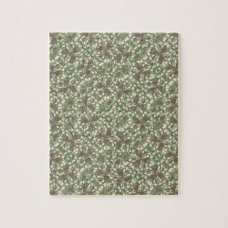 Vintage Baroque Pattern Jigsaw Puzzle