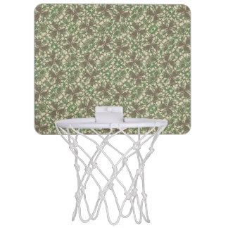 Vintage Baroque Pattern Mini Basketball Hoop