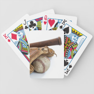 Vintage Baseball and Bat Bicycle Playing Cards