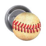 Vintage baseball ball buttons