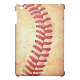 Vintage baseball ball case for the iPad mini