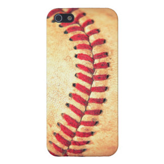 Vintage baseball ball iPhone 5/5S case