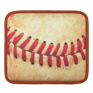 Vintage baseball ball sleeves for iPads