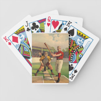 Vintage Baseball Bicycle Playing Cards