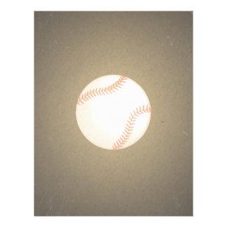 Vintage Baseball Design. Sport Pattern Personalized Flyer