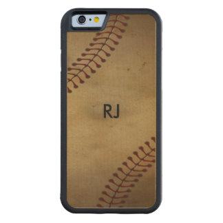 Vintage  Baseball Maple iPhone 6 Bumper Case