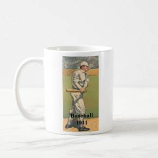 Vintage Baseball Mug 1911 Basic White Mug