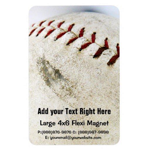 Vintage Baseball or Softball  Stitches Magnets