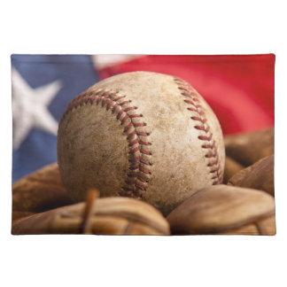 Vintage Baseball Placemat
