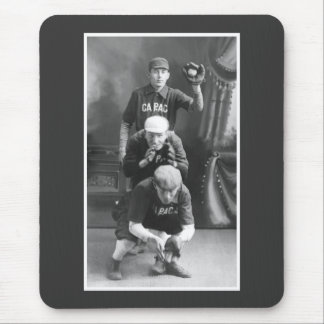 Vintage Baseball Players early 1900s Mouse Pad