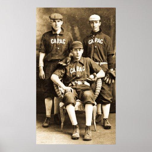 Vintage Baseball Players 100