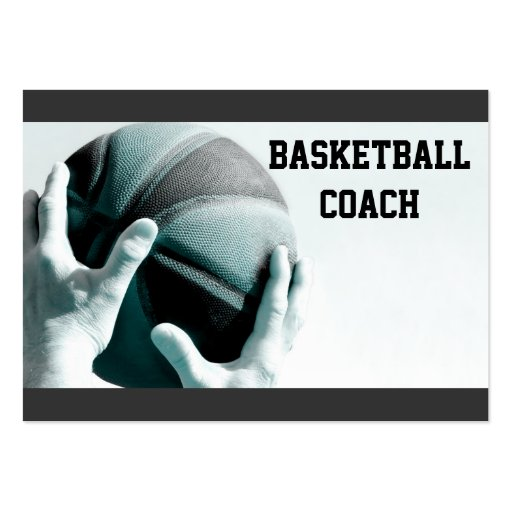 Vintage Basketball Business Card