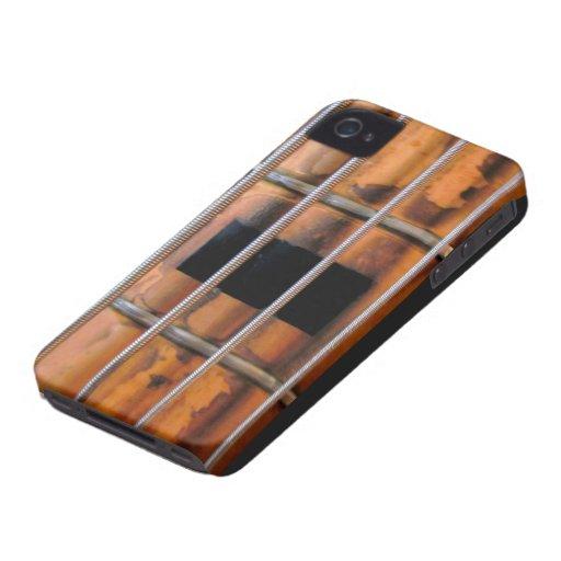 Vintage Bass Guitar iPhone 4 Case-Mate Case