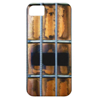 Vintage Bass Guitar iPhone 5 Covers