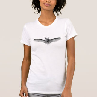 Vintage Bat Illustration T-Shirt