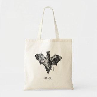 Vintage Bat Illustration Tote