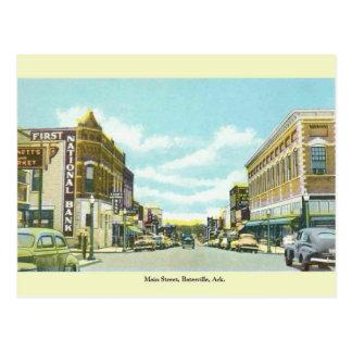 Vintage Batesville, Arkansas Postcard