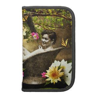Vintage Bathgirl Folio Smartphone Organizer