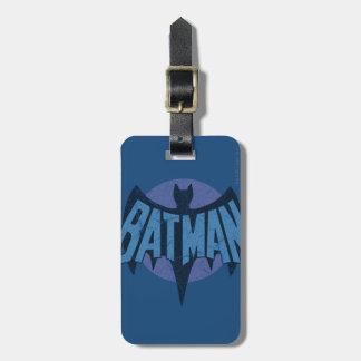 Vintage Batman Logo Luggage Tag