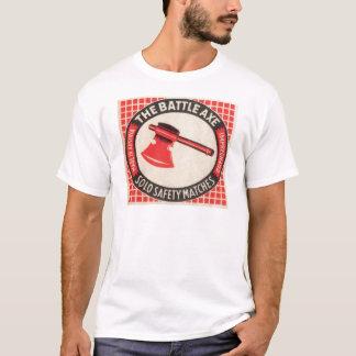 Vintage Battle Axe Matchbox Logo T-Shirt