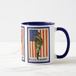 Vintage Be a U.S. Marine! Mug