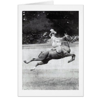 Vintage - Be Careful on That High Horse, Card