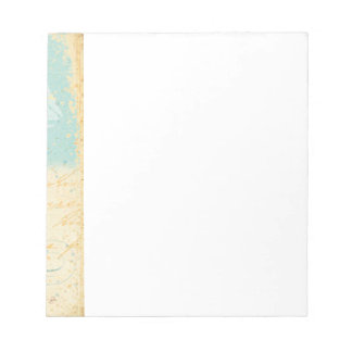 Vintage Beach Scene Notepad