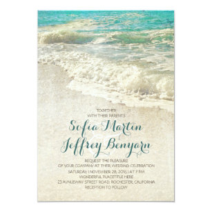 beach wedding invitations zazzle com au