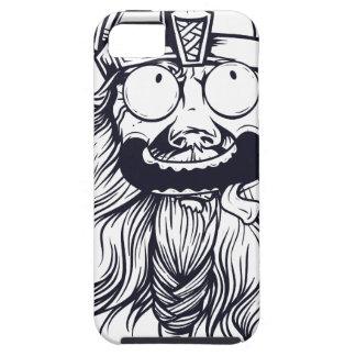 vintage bearded human iPhone 5 case