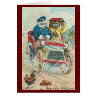 Vintage - Bears Breaking Record Card