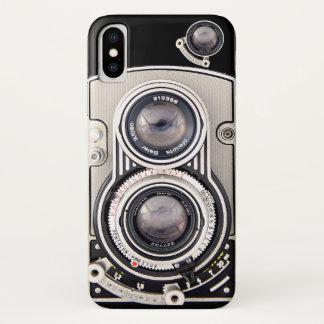 Vintage beautiful camera iPhone x case