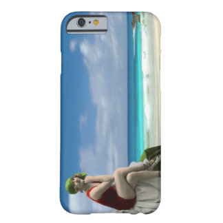 Vintage Beauty and the Beach Barely There iPhone 6 Case