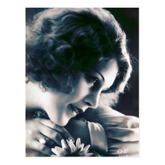 Vintage Beauty French Photo Postcard