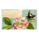 Vintage Bee and Flower Calling Card Pack Of Standard Business Cards