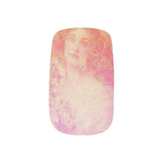 Vintage,belle époque,beautiful lady,victorian,chic minx nail art