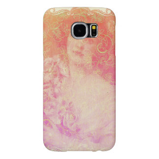 Vintage,belle époque,beautiful lady,victorian,chic samsung galaxy s6 cases