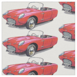 vintage Berkeley T60 car fabric