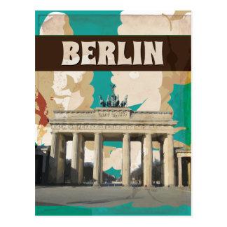 Vintage Berlin Travel Poster Post Cards