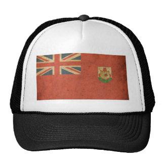 Vintage Bermuda Flag Hats