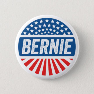 Vintage Bernie 6 Cm Round Badge