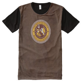 Vintage Bicycle 3A Options All-Over Print T-Shirt