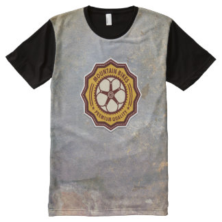 Vintage Bicycle 8A Options All-Over Print T-Shirt