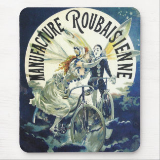Vintage Bicycle Advertisement - Cycling Mouse Pad