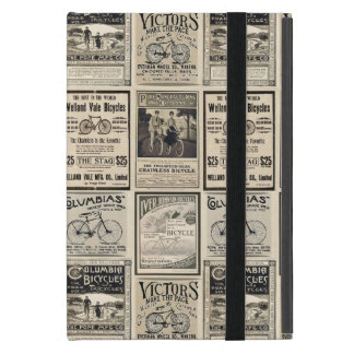 Vintage Bicycle Advertising Collage iPad Mini Covers