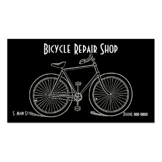 Vintage Bicycle Business Cards