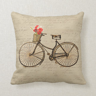 Vintage Bicycle Cushion